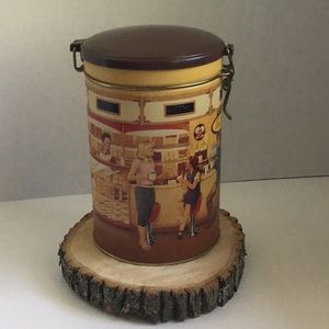 🛍 Tim Hortons Collector Canister Tin #001